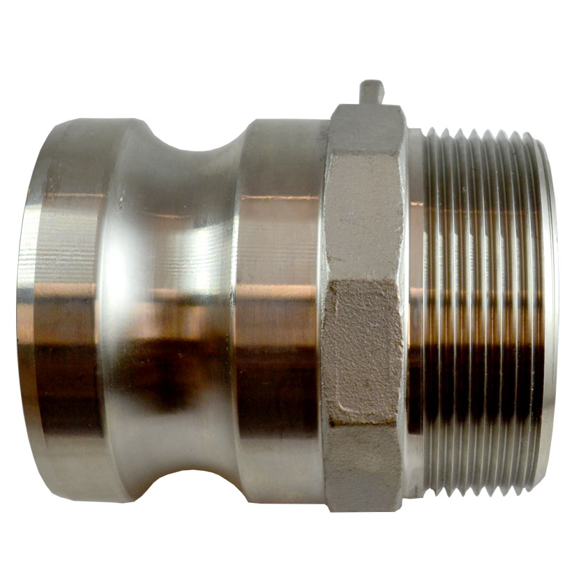 Stainless Steel Male Adapter Image